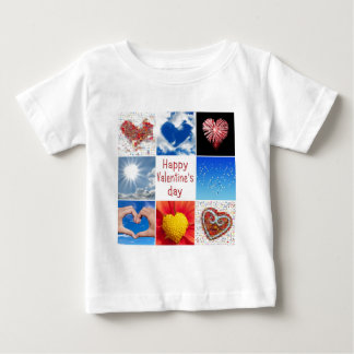 """Joining heart """"Happy Valentine' S day """" Tee Shirts"""