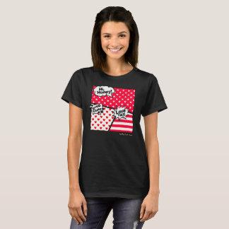 < JoinT >THE PIN'S AMERICAN COMICS 004 T-Shirt