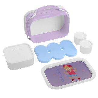 JoJo Lunchbox - Floral Bkgrd