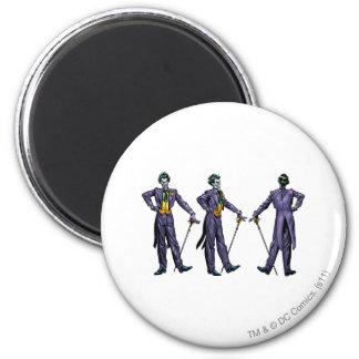 Joker - All Sides Refrigerator Magnet