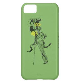 Joker and Batman Comic Collage iPhone 5C Case