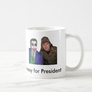joker and dirt basic white mug