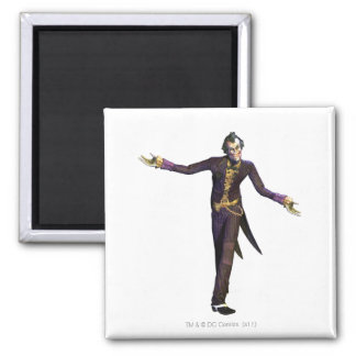 Joker Arms Out Square Magnet