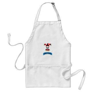 joker art jester standard apron