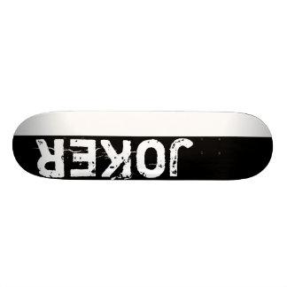 Joker Black and White deck Custom Skate Board
