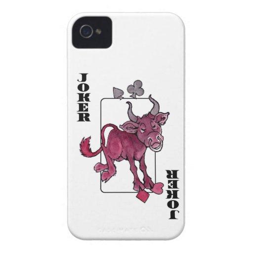 Joker Bull Blackberry Case