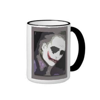 Joker card ringer coffee mug