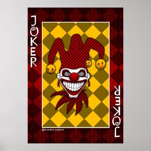Joker Card Poster