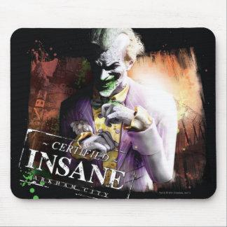 Joker - Certified Insane Mousepad
