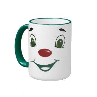 Joker Face Ringer Mug