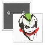 Joker Graffiti 15 Cm Square Badge