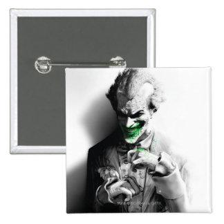 Joker Key Art 15 Cm Square Badge