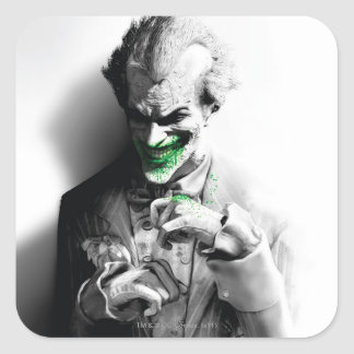 Joker Key Art Square Sticker