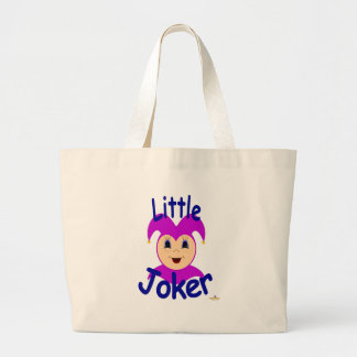 Joker Kiddo Face Little Joker Tote Bags