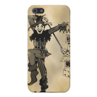 Joker Old Card iPhone Case iPhone 5 Cases