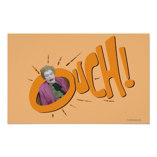 Joker OUCH! Poster