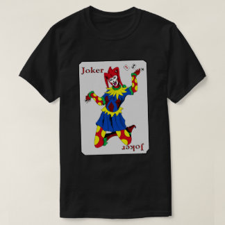 Joker Playing Card T-Shirt