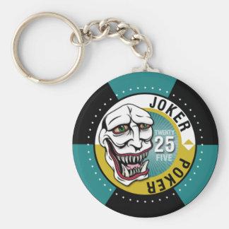 Joker Poker Keychain