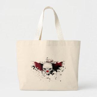 joker skull canvas bag