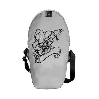 Joker Skull Courier Bags