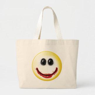 Joker Smiley Face Canvas Bag