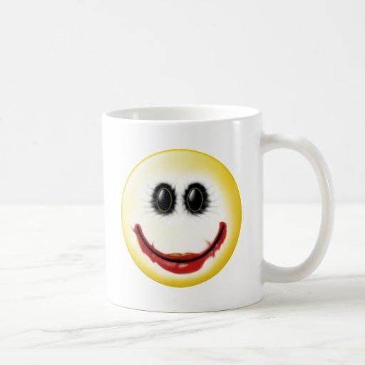 Joker Smiley Face Coffee Mugs