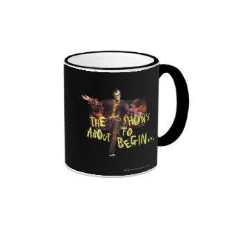 Joker - The Show's About To Begin� Ringer Mug