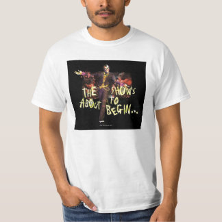 Joker - The Show's About To Begin� T-Shirt
