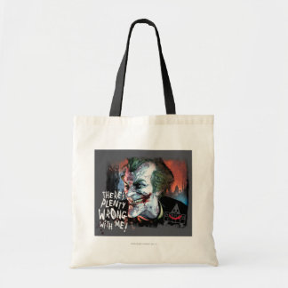 Joker - There's Plenty Wrong With Me! Budget Tote Bag