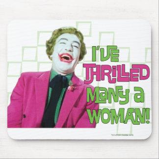 Joker - Thrill Mouse Pads