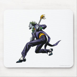 Joker with Gold Cane Mousepad