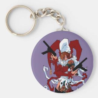 Joker Yaya Basic Round Button Key Ring
