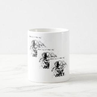 JokerIII, Triple JOKER III Basic White Mug
