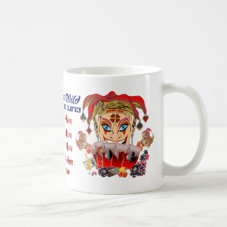 Joker's Wild Anywhere Classic White Coffee Mug