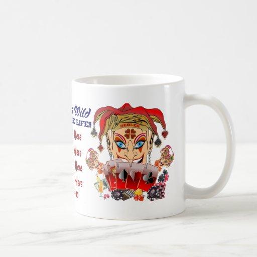 Joker's Wild Anywhere Mugs