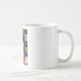 Jokers wild basic white mug