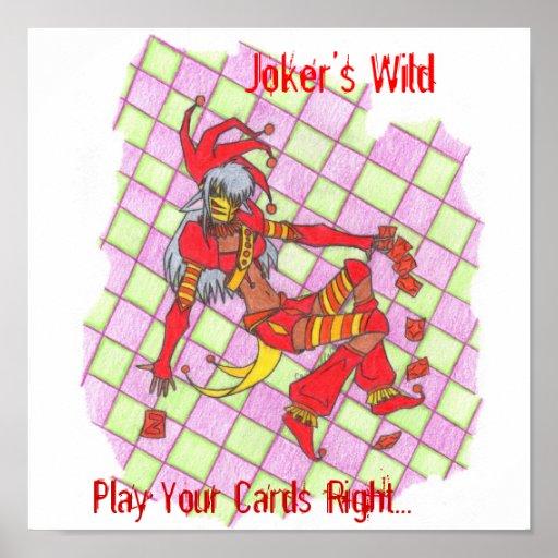 Joker's Wild (Zy) Print