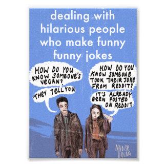 Jokes From Reddit Photograph