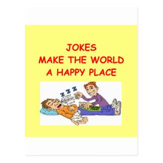 jokes postcard
