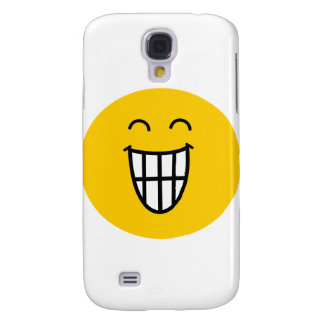 Joking around Smiley face Samsung Galaxy S4 Covers