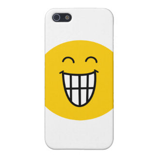 Joking around Smiley face Cover For iPhone 5