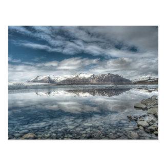 Jokulsarlon glacial lagoon, Iceland Postcard