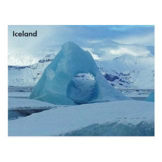 Jökulsárlón Glacier Lagoon, Iceland Postcard