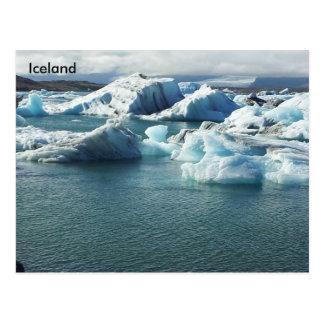Jökulsárlón Glacier Lagoon, Southeast Iceland Postcard