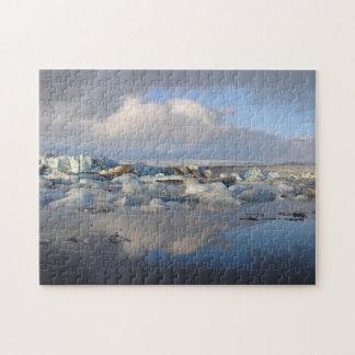 Jokulsarlon glacier lake in Iceland puzzle