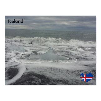 Jökulsárlón, Iceland Postcard
