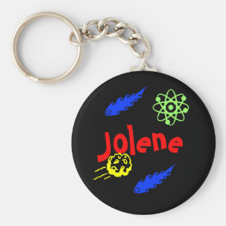 Jolene Key Ring