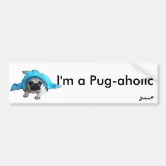 Jolene Pug Bumper Sticker