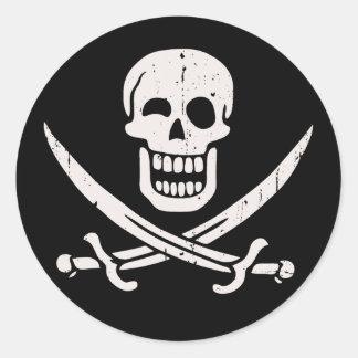 Jollier Jack Round Sticker