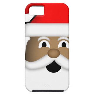 Jolly Black Santa iPhone 5 Cases